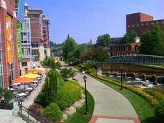 Downtown Greenville, SC