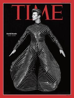 Bowie na capa da Time. Bowie enquanto nome de rua em Austin