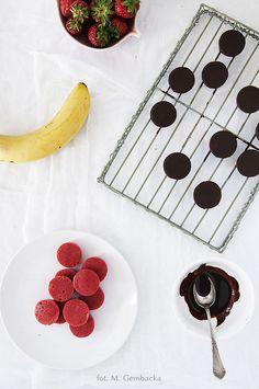 galaretki owocowe w czekoladzie