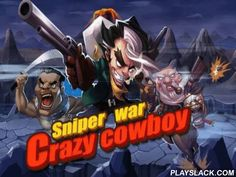 Crazy сowboy: Sniper War  Android Game - playslack.com , Crazy  owboy: Sniper war - aid crazy cowboy wreck tones of his enemies. Shoot all you can see on the screen!