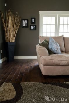 dark hardwood floor like he dark warm walls with the darker warm floor colors