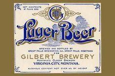 Art Print Gilbert Brewery Lager Beer 28x42 New DB-35154