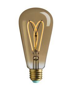 Whirly Willis - LED Filament Light Bulb