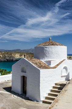 Greece Travel Inspiration - Chapel in Lindos - Rhodes, Greece #kitsakis