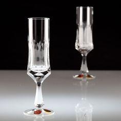 2 Vintage Nachtmann Andrea Sektkelch Sektgläser Kristall Glas Gläser Ki