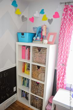 Genevieve's Toddler Room + Room for Toys.
