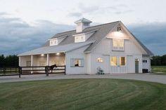 Morton Buildings Kari & Stu's Horse Barn Home  project #B091005395