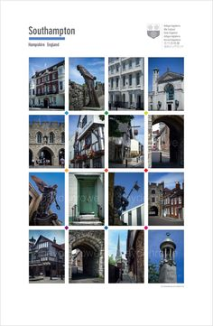 High quality posters of english cities towns and other lovely places Salisbury…