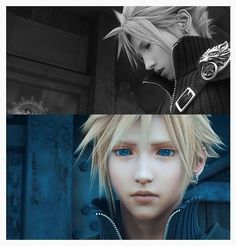 Cloud Strife. Final Fantasy VII: Advent Children Complete.