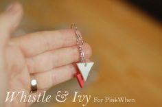 DIY Polymer Clay Geometric Earring Tutorial