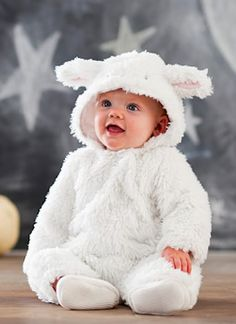 adorable baby lamb costume