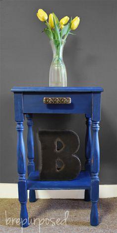 Blue Table- Chalk Paint