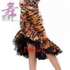latin fringe dress new 2016 ballroom dresses tiger/zebra/leopard grain skirt latin dance M/L/XL vestidos de baile free shipping-in Ballroom from Novelty & Special Use on Aliexpress.com | Alibaba Group