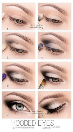 lindo maquillaje                                                                                                                                                                                 Más #eyemakeupforglasses