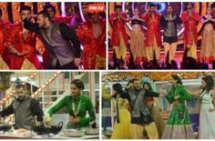 Bigg Boss 9, Day 28 Recap: When Salman'S Prem Ratan Dhan Payo Family Takes Yuvika Home! ◄ Back Next ► Picture 1 of 11 Salman started the weekend show with his song 'Prem-Leela'.  Read More