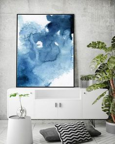 Blue Abstract Watercolor Print Set Of Abstract Watercolor, Modern Art Set, Scandinavian Art , Blue Contemporary Art Set, Modern art set Blue Abstract, Abstract Watercolor, Contemporary Abstract Art, Modern Art, Decoration, Art Decor, Wall Art Prints, Fine Art Prints, Art Journal Techniques