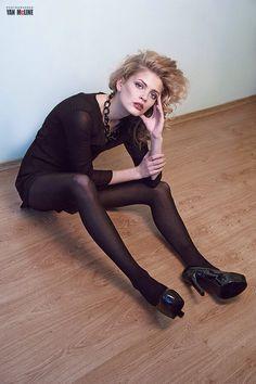 Fashion YanMcLine model magazine beautiful