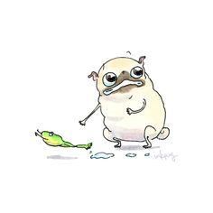 #inkpug #pug