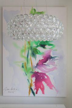Caboche lamp van Patricia Urquiola. Prachtig!