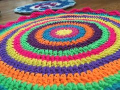 Flo's #Crochet Contribution to Mandalas for Marinke + Workplace Mental Health