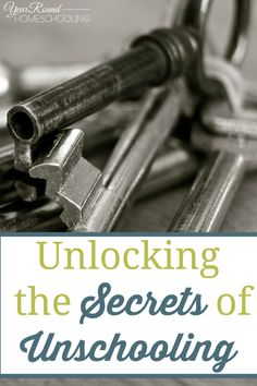 Unlocking the Secrets of Unschooling - By Shelley