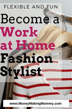 Are you a natural when it comes to fashion and style? These work at home jobs in fashion can earn a paycheck for you! Become a Remote Fashion Stylist. Source by kellyland idea for work Work From Home Moms, Make Money From Home, Way To Make Money, Make Money Online, Fashion Stylist Jobs, Fashion Jobs, Fashion Ideas, Fashion Fashion, High Fashion