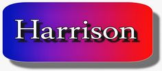 Ramblings...Essays and Such...: Harrison
