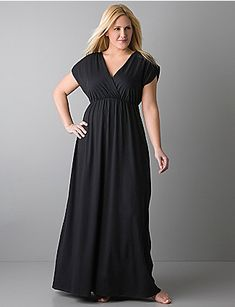 12b66abf98f95 straight from the beach to happy hour in style with this Surplice maxi  dress by Lane