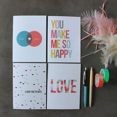Image of Assorted Love Cards