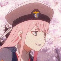 Darling in the franxx zero two Manga Anime, Anime Girl Neko, Anime Demon, Kawaii Anime, Anime Art, Querida No Franxx, Noragami, Cute Profile Pictures, Profile Pics