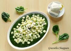 Gnocchetti di patate con crema di spinaci e feta, una ricetta semplice e gustosa che sarà apprezzata da grandi e piccini :)