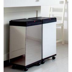 ドイツHailo社のロングセラー、合理的かつ快適なゴミ箱。 Kitchen Cart, Desk, Simple, Room, House, Furniture, Home Decor, Craft, House Decorations