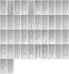 дверные накладки - Производство декоративных накладок и кухонных мебельных фасадов из МДФ