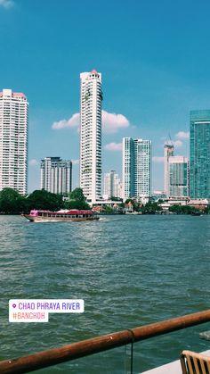 My love for Bangkok 💙 Bangkok, New York Skyline, Photo And Video, My Love, City, Travel, Instagram, My Boo, Viajes