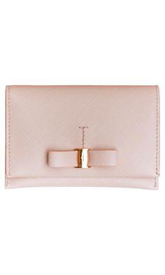 Salvatore Ferragamo Saffiano Leather Credit Card Holder  € 159.00 - ss13 #wallet