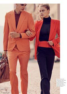 Nina Agdal poses on Vogue Mexico Magazine November 2015 issue Photoshoot