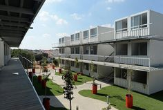 Israel Gets a Shipping Container Student Village