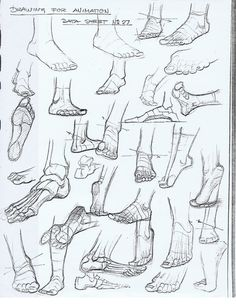 Feet Drawing Reference Guide   Drawing   Scoop.it