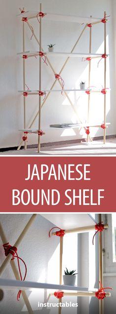 Japanese Bound Shelf #furniture