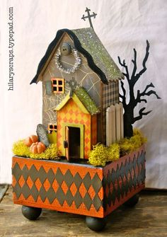 Halloween House by @Hilary Kanwischer.