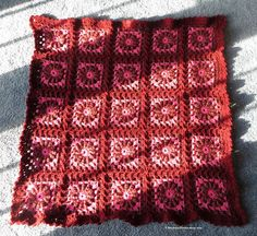 Circles and Squares Lap or Baby Blanket  37 by EvensensProductions, $40.00