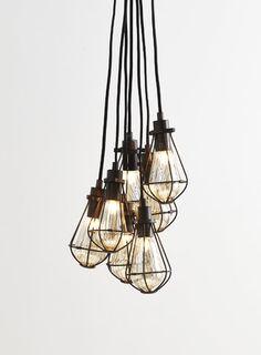 Billie 7 light Cluster Light
