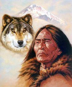 Spirit of the Wolf by Jon Ren  kp