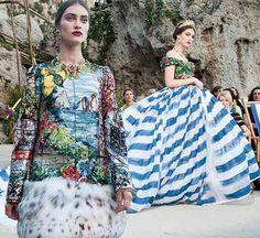 cool Dolce & Gabbana's Divine Couture Line Presentation in Capri