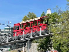 Take a Ride on the UBS Polybahn Funicular in Zurich Ubs, Zurich, Take That, My Love