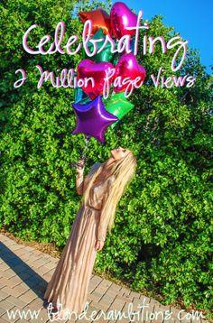 BLONDER AMBITIONS | CELEBRATING 2 MILLION PAGE VIEWS! fashion. fashion blog. lifestyle. intelligence. travel. california style. santa barbara. blonde.