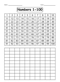 9 best Jayden\'s numbers images on Pinterest   Writing numbers ...
