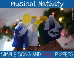 The Nativity Song and Musical Puppet Show