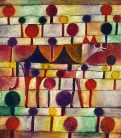 Paul Klee, about the interaction of systems in nature.