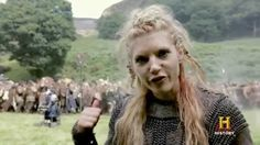 The girls. I love that Viking and Celtic women went into battle. Have a look Boudicca Vikings Season 2 : Anatomy of a Battle Scene